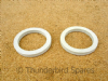 Front fork Spring Seat Felt Washer, Pair, Triumph Twins 1964-1965, 97-1756